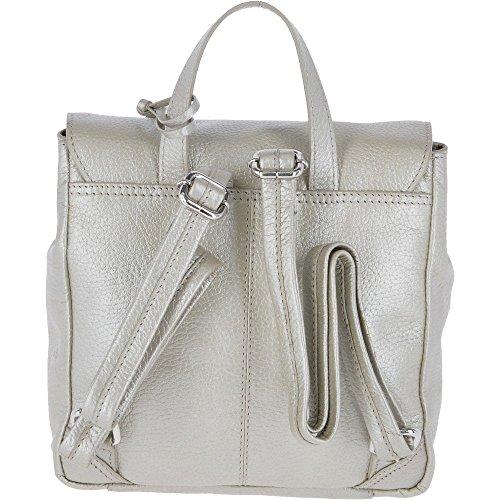 Zainetto A Donna Argento Borsa Leather Ashwood Silver wUqfEtfF
