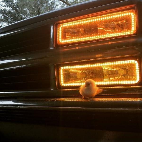 Chevrolet C1500 88-98 CHS Bright Blue LED Headlight Halo Ring Kit