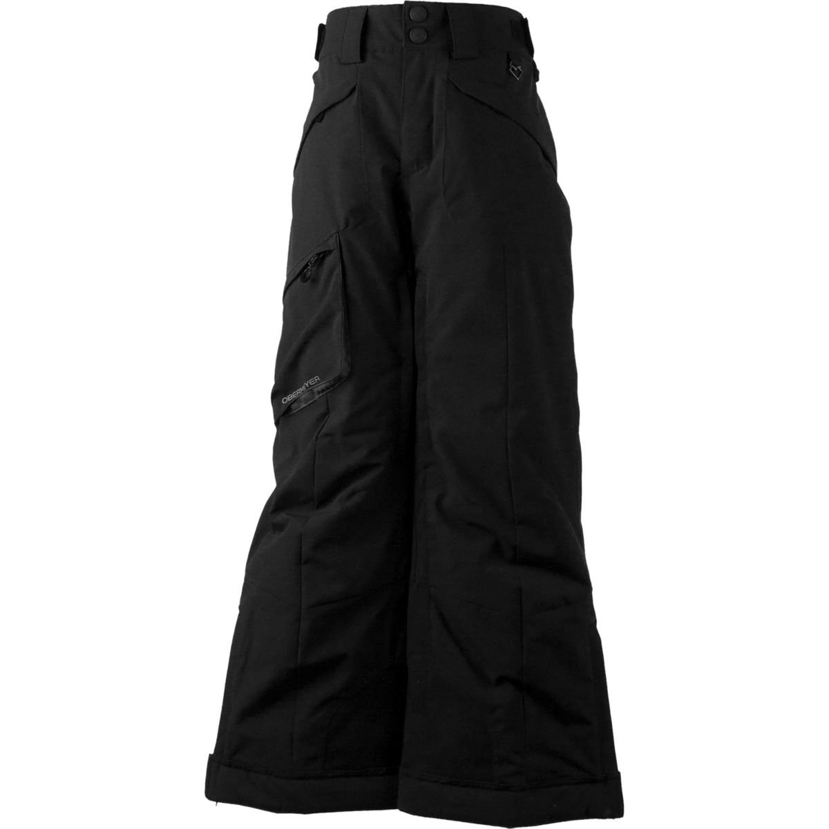 Obermeyer Kids  Boy's Porter Pants (Little Kids/Big Kids) Black Medium