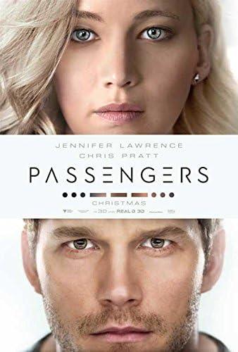 Chris Pratt v2 - Jennifer Lawrence Passengers Movie Poster 24x36