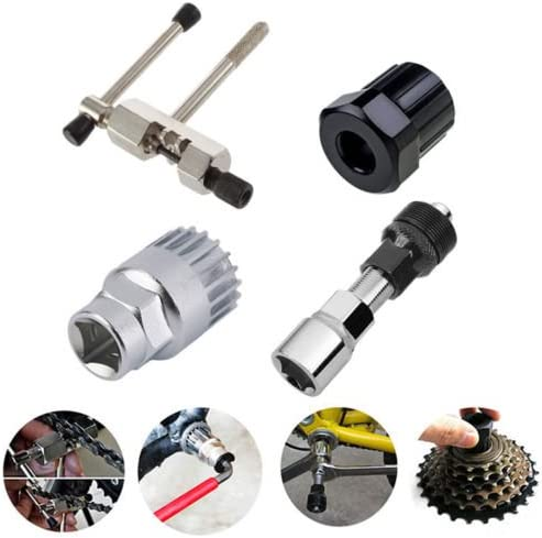 Mountain Bike MTB Bicycle Crank Chain Axis Extractor Removal Repair Tool Set NEW