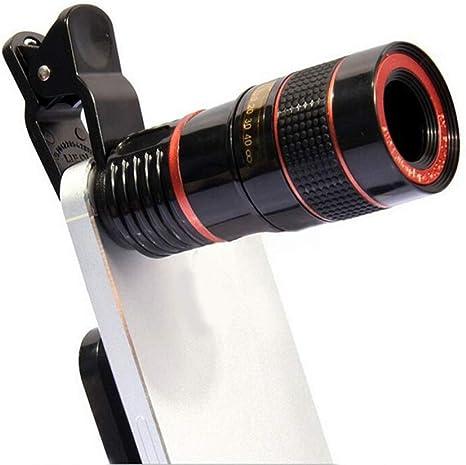 CARWORD 8X 12X Zoom Teléfono Celular Telescopio Universal ...