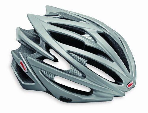 "Bell Volt Racing Bicycle Helmet Matte Titanium Large (59 - 63cm / 23.25 - 24.75"")"