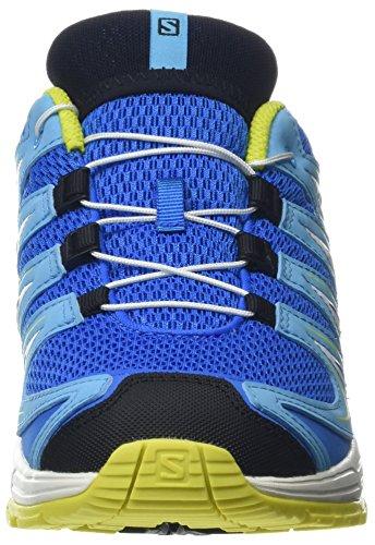 XA Trail Indigo Salomon Spring Running Outdoor Synthetic Sulphur White Unisex 3D Pro Bunting Textile Kids Shoes Blue Indigo EACAq