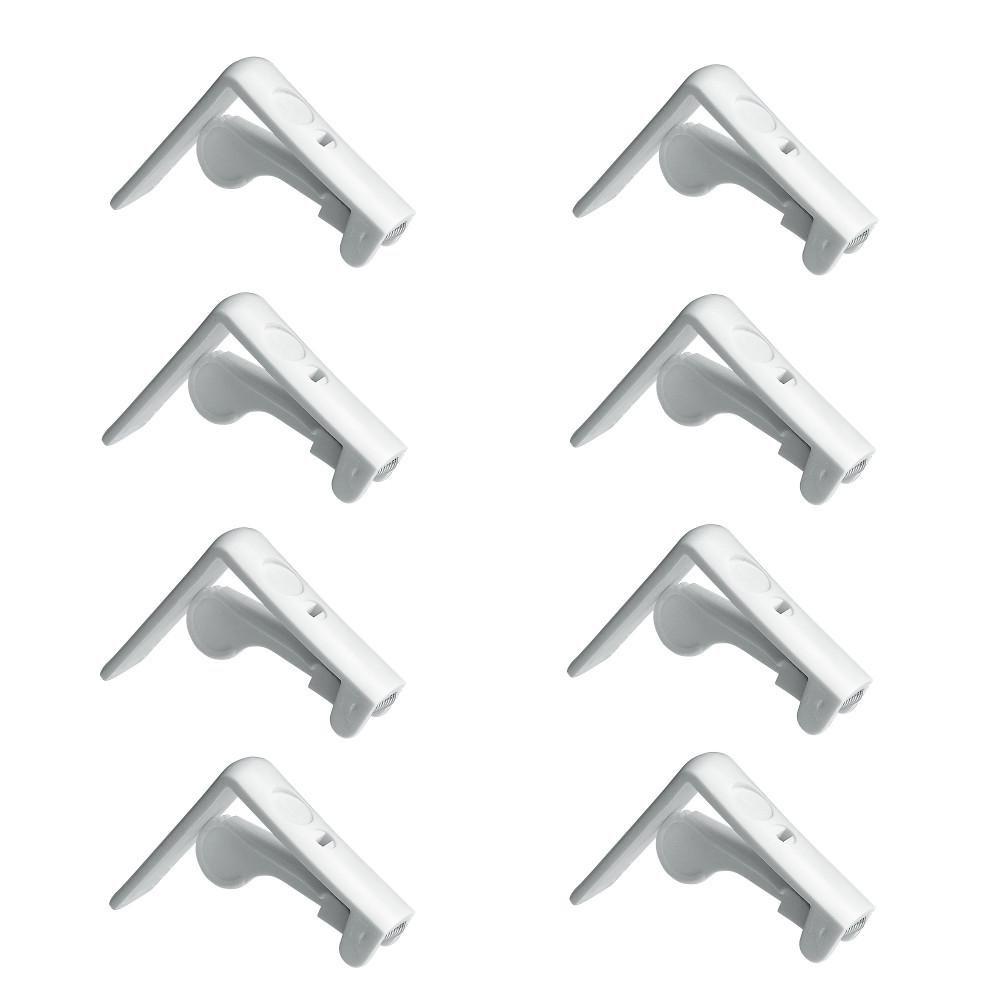 Home Xpert 8er Fermatovaglia Set di fino a 45/mm di spessore tavolo da soffitto bianco