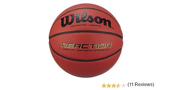 Wilson Reaction color marr/ón YTH 5 Pelota