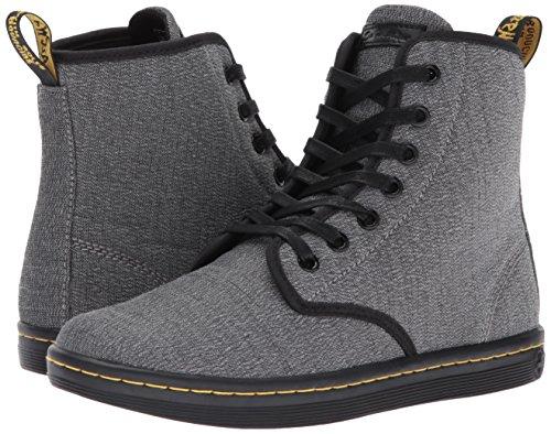 Sneaker Grigio Grey mid Dr Martens Serge Donna Shoreditch Mid Grey XxzH0