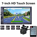 Dreamyth GPS Navigation HD Double 2 DIN Car Stereo MP5 Player Bluetooth Radio In Dash+Cam
