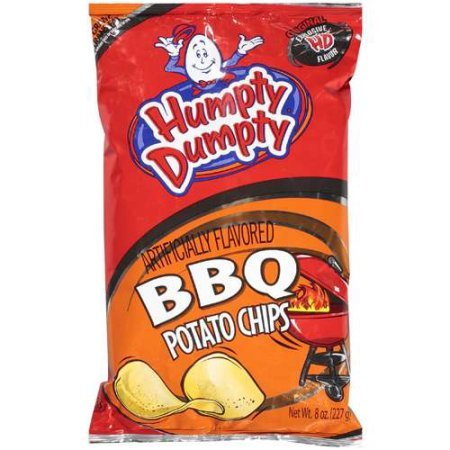 Humpty Dumpty Potato Chips, 7 Ounce, 6 Count (BBQ)