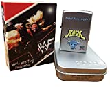 Zippo WWF Wrestling the Rock Just Bring It Satin Chrome Lighter 205wwf716