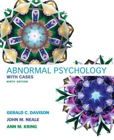 Abnormal Psychology, with Cases -