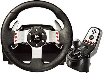 Logitech G27 - Juego de Volante de Cuero, Pedales y Cambio de Marchas Gaming (2 Motores, 6 velocidades, Compatible con PC o PS3), Negro: Amazon.es: Electrónica