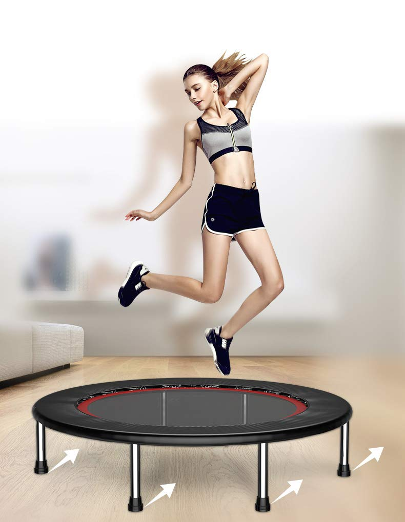 Girl Jumping On Trampoline Stock Footage Photo