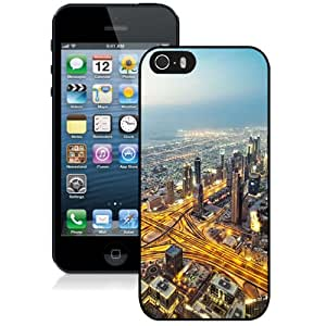 NEW DIY Unique Designed iPhone 5s Generation Phone Case For Busy City Life Phone Case Cover