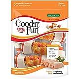 Good'n'Fun Rawhide Bones, Triple Flavor Chews, 6-ct (3 Packs) Review