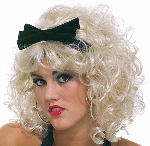 [Material Girlie Adult Wig] (80s Pop Party Girls Costume)