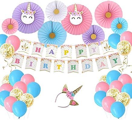 Amosfun 23 Piezas de decoración de la Fiesta de cumpleaños ...
