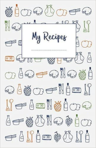 My recipes the do it yourself cookbook to note down your 120 my recipes the do it yourself cookbook to note down your 120 favorite recipes half letter format creative journals network 9781549696213 amazon solutioingenieria Images