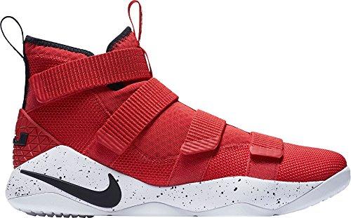 NIKE Herren Lebron Soldier Xi Basketballschuh Rot / Weiß-M