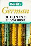 Berlitz German Business Phrase Book