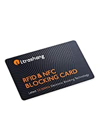RFID Blocking Card -Protect Entire Wallet-NFC Bank Debit Credit Card Protector