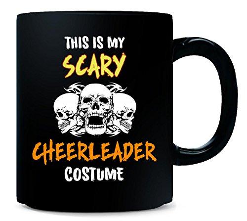 [This Is My Scary Cheerleader Costume Halloween Gift - Mug] (Guy Cheerleader Costumes)