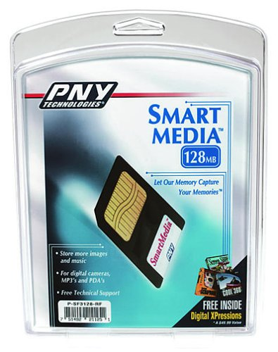 PNY 128 MB SmartMedia Flash Memory Card by PNY (Image #1)