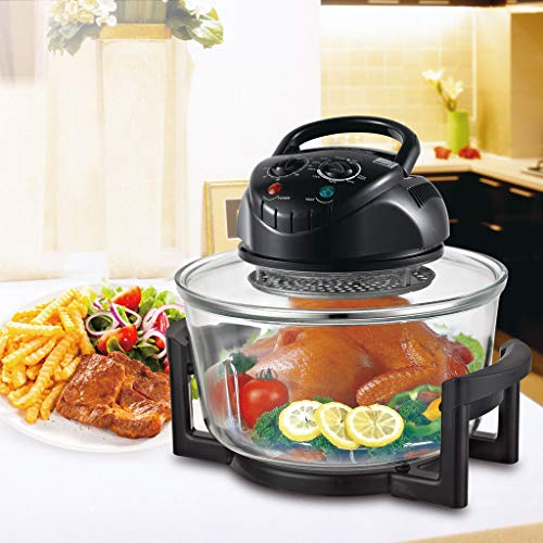 - Rapid Wave Convection Countertop Halogen Oven 17 Quart For Easter Day with Ring
