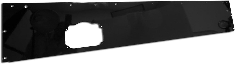 Rugged Ridge 13320.10 Black Powder Coat Replacement Dash Panel Blank,Small Parcel Shipping