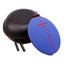 • Ltgem Hardshell Luxury PU Leather EVA Storage Carrying Travel Case Bag for UE Roll 360 Wireless Bluetooth Speaker
