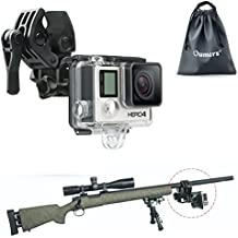 Universal Camera Clamp Mount Set, Oumers Fixing Clip Mount Kit For Fishing Rod / Bow Fixing Clip, For GoPro Hero HD, Hero 4, Hero 4session Hero 3+, Hero 3, Hero 2, GoPro Camera Accessories