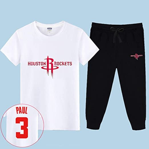 ENTHUSIAST Conjunto Jersey NBA Houston Rockets Harden Chris Paul ...