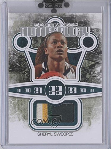 Sheryl Swoopes #1/9 (Trading Card) 2010 Sportkings Series D - Numerology - Silver #N-10