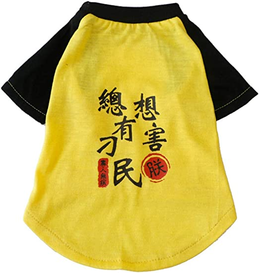dingsheng Camisa de Ropa de Cachorro Ropa de Cachorro Camiseta de ...