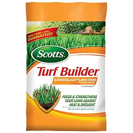 Scotts Fertilizante para césped constructor con verano Guardia fertilizante, 15 m: Amazon.es: Jardín