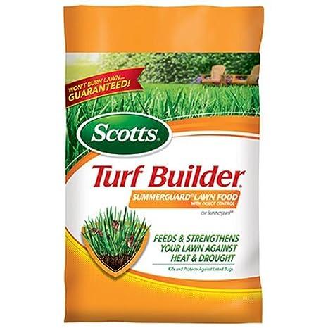 Scotts Fertilizante para césped constructor con verano Guardia fertilizante, 15 m: Amazon.es: Jardín