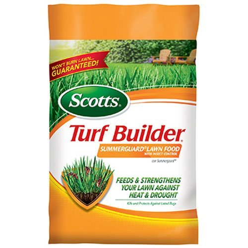 Scotts Turf Builder Lawn Food - Summerguard with Insect Control, 15,000-sq ft (Lawn Fertilizer plus Insect Control) (Not Sold in Pinellas County, -