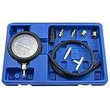 GEPCO Advanced Technology Fuel Pump & Engine Vacuum Pressure Gauge Leak Diagnostic Tool Tester Kit + Case