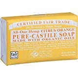 Bar Soap, Organic, Citrus, 5 oz (Multi-Pack)