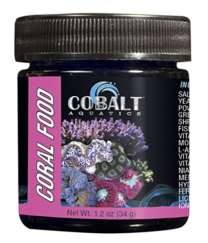 Cobalt Aquatics Coral Food Powder, 1.7 oz Brine Shrimp Algae
