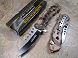 Tac Force TF-498BC Outdoor Assisted Opening Folding Knife 4.75-Inch Closed