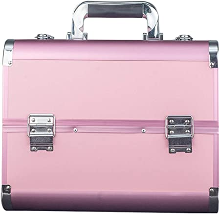 QXTT Neceseres para Maquillaje Maletín Estuche Maquillaje Estuches De Belleza Profesionales 32 X 21 X 26 Cm,E: Amazon.es: Hogar