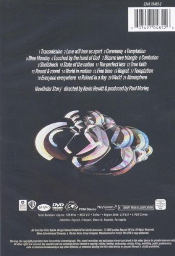 New Order - New Order Story by WEA DVD