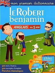 Le Robert benjamin anglais dictionnaire (1Cédérom)