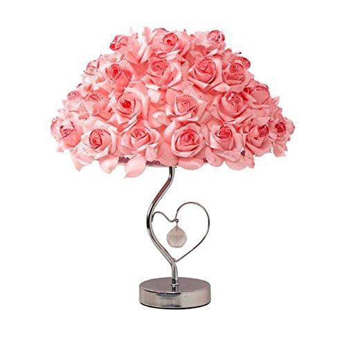Taple Lamp (K9 crystal Marry practical roses lamp flower taple lamp)