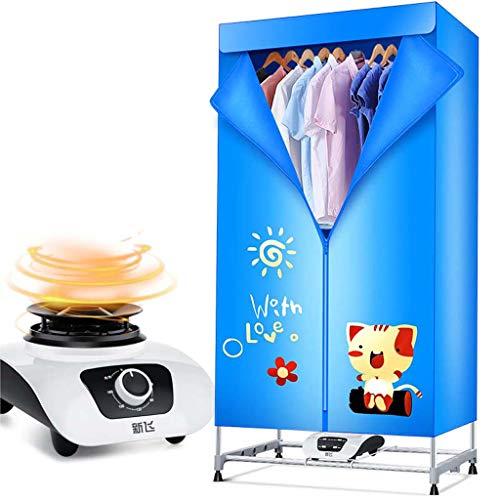 Electric dryer Haushalts-Stiller Energiesparender Heizungs-Trockner, Doppelschichtiger Schnell Trocknender Garderoben…
