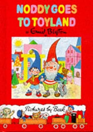 book cover of Noddy Goes to Toyland