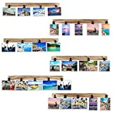 Aiyome 6 Wooden Wall Hanging Photo Frames With 27