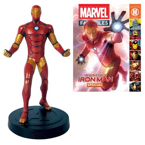 Eaglemoss Publications Marvel Fact Files Special #16 Iron Man Statue with Magazine