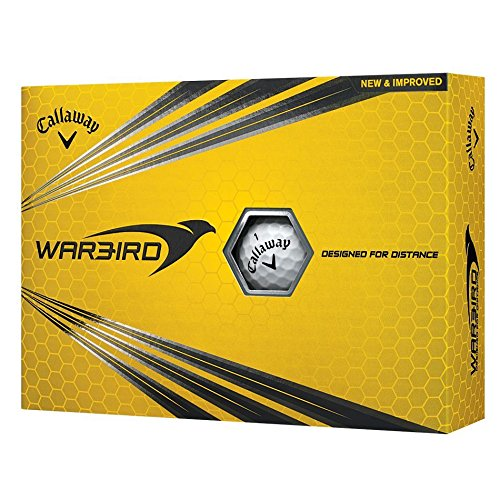 Callaway 2017 Warbird Golf Balls (One Dozen) White